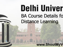 Delhi University BA Course Details