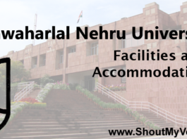 Jawaharlal Nehru University Facility Fees accommodation