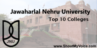 Jawaharlal Nehru University Top 10 Colleges