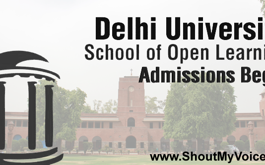 Procedure for Taking Admission in DU