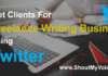 Get Clients For Freelance Writing Work